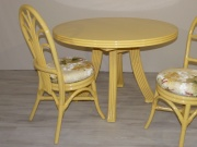 Table Fontaine Ronde En 110 - 1 Allonge -